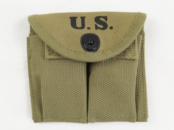 US ARMY WW2 M1 Carbine double magazine bag