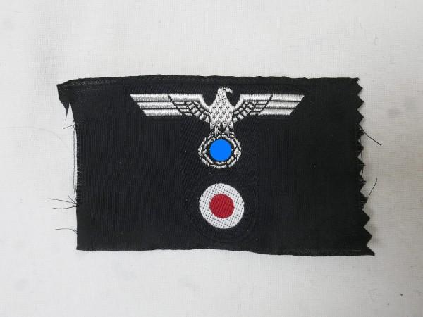 Wehrmacht tank T-cap badge officer cap eagle T-shape woven field cap
