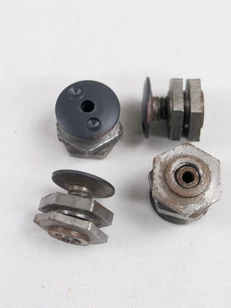 WK2 1xSet pan-head screws paratrooper helmet M38 steel helmet screws for inside helmet 4xpieces