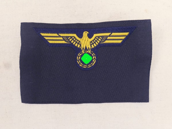 Kriegsmarine Breast Eagle woven execution for crews