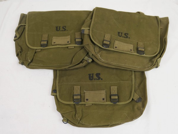 Type US Army WW2 M-1936 Musette Bag / Combat Bag M36 olive