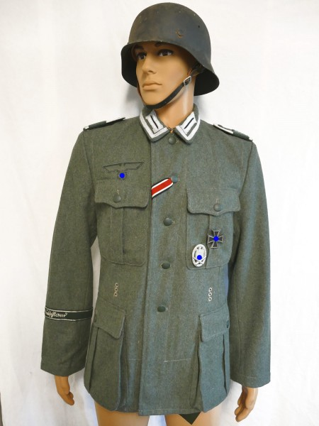 Wehrmacht M1940 field blouse GERMANY NCO M40 uniform effectuated size 50