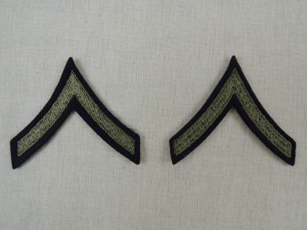 US Army Badge Private First Class WK2