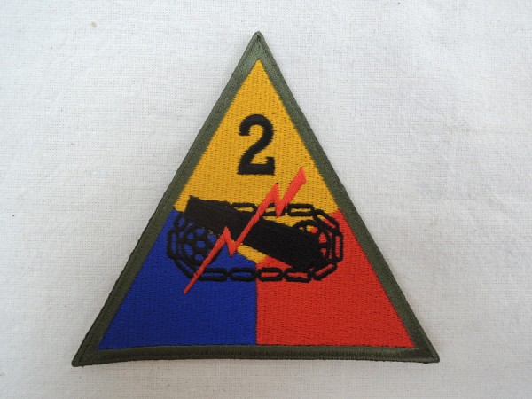 Sleeve Badge 2nd Armored Division