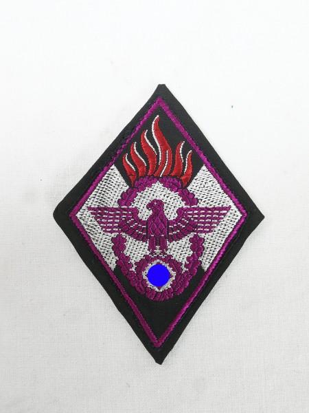 HJ fire department badge / sleeve badge woven