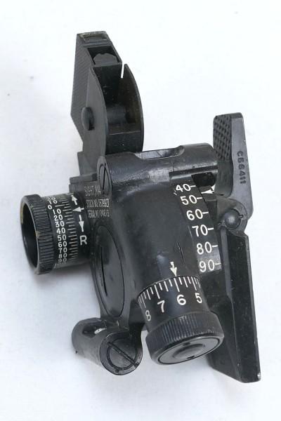 1x Piece US ARMY WW2 M4 Sight 60mm Mortar Optics Attachment Directional Circle Mortar