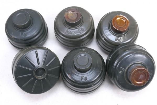 Original Wehrmacht Gasmaskenfiltert FE41 Filter für Gasmaske WK2 #2