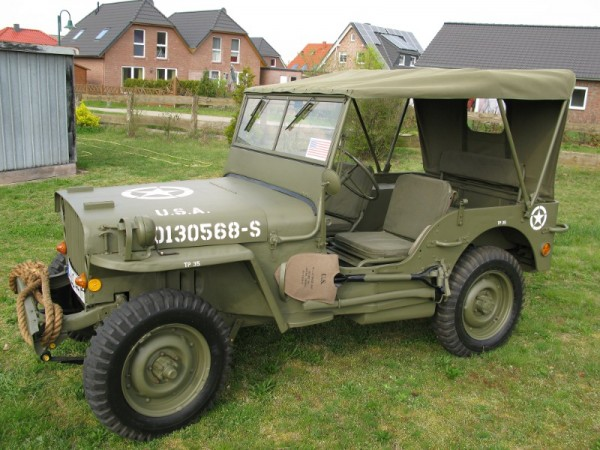 Jeep Canopy Willys Jeep MB, Ford GPW, Hotchkiss M201 with stencil: caution left hand drive