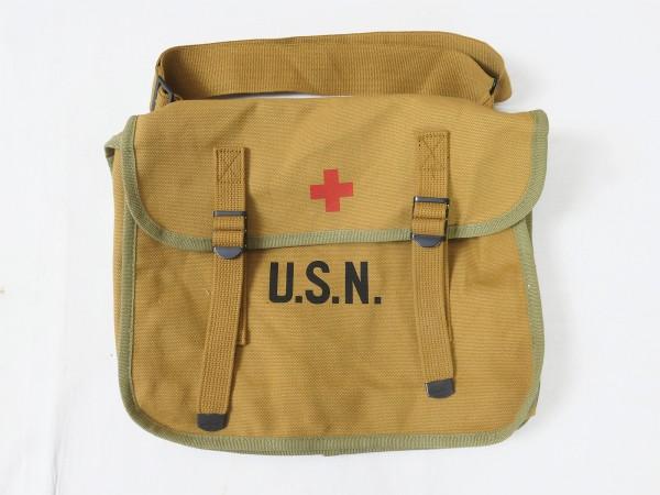 US Navy USN Medical Bag Combat Bag - Red Cross Paramedic Bag