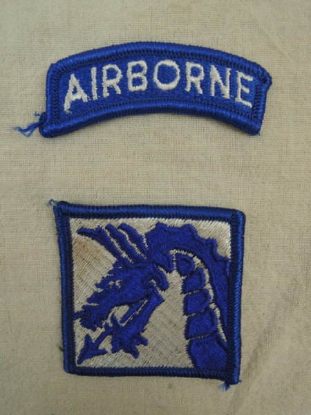 US ARMY Badge DRAGON PATCH XVIII 18th Airborne CORPS SUBDUED
