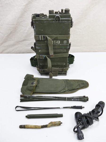#21 US ARMY RADIO UNIT VIETNAM RADIO RECEIVER PRC-10 + Accessories WILLYS JEEP