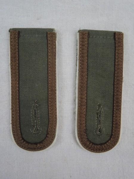 Wehrmacht Shoulderboards Afrika Korps Heer Version for NCOs