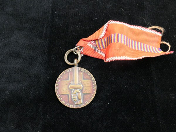 Medal / Memorial Medal to the Crusade against Communism 1941