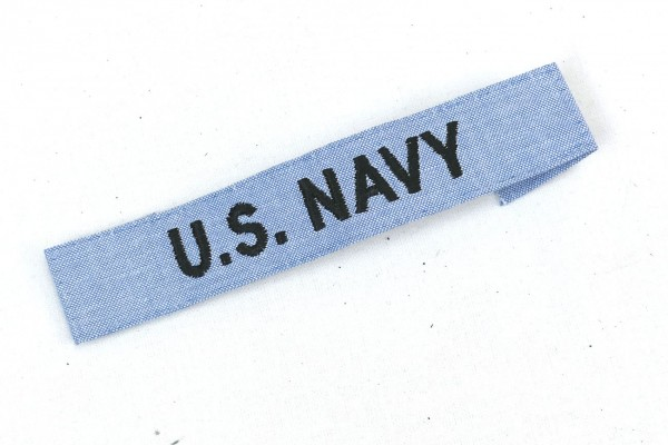 U.S. Navy Patch Combat Badge - US fabric badge writing patch