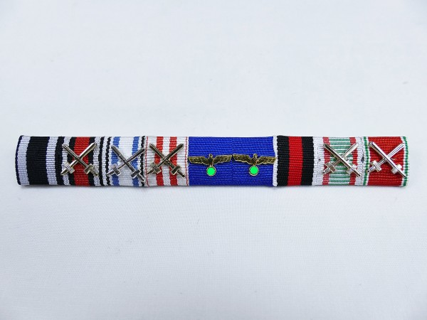 Wehrmacht ribbon clasp 9s with overlays / medal clasp Paul Hausser