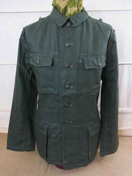 Wehrmacht / Elite Drillich Field Blouse M40 Fieldjacket HBT Summer Uniform Drillichjacke
