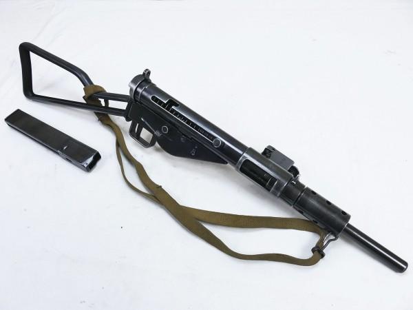 GB ARMY WW2 Sten MP MKII submachine gun deco model film gun with carrying strap