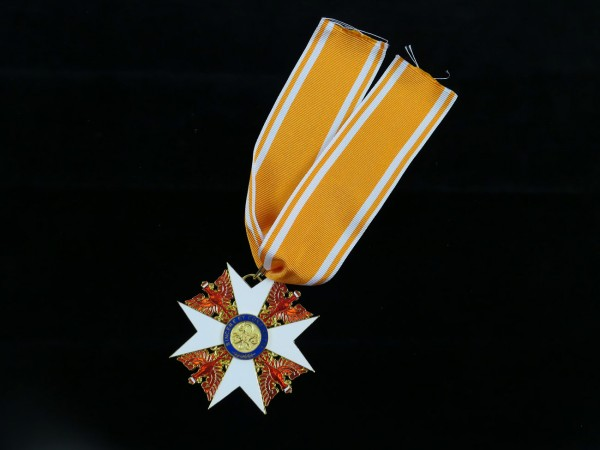 Prussia Red Eagle Order Grand Cross with Swords on Ribbon