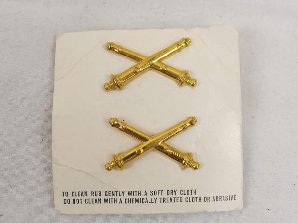 Original US Army Vietnam Insignia Branch of Service Officers Field Artillery badge 1970