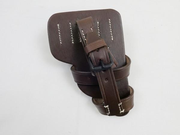 Wehrmacht Luftwaffe Paratrooper Pistol Bag soft shell Holster brown for 08 pistol