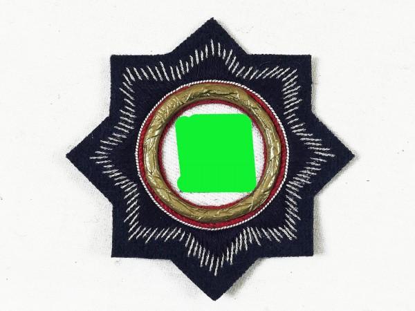 German Cross 1941 Level Gold Fabric Badge Marine