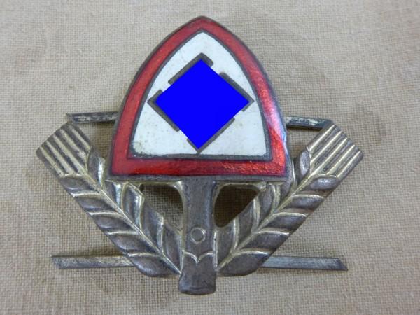 Cap badge RAD leader Reichsarbeitsdienst