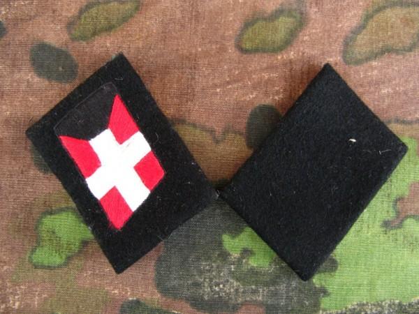 Elite collar mirror XX Panzgren . Reg . Denmark