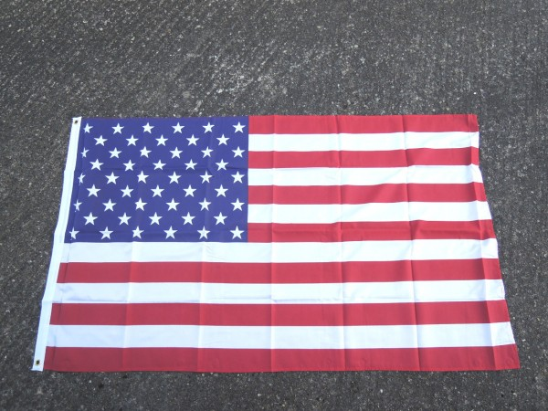 US Flag flag 150 x 90 cm with metal eyelets for hanging up