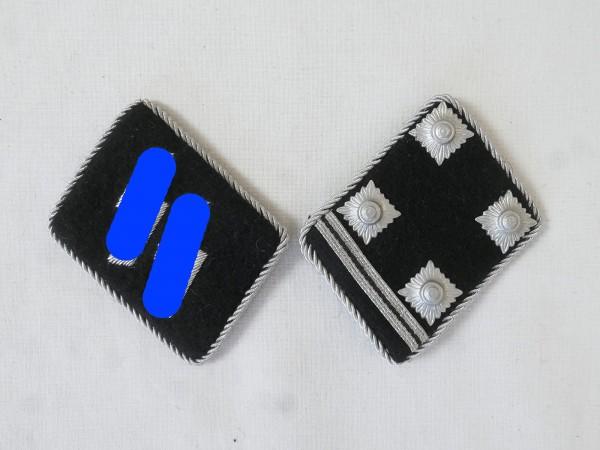 Waffen Elite collar mirror / Obersturmbannführer Lieutenant-Colonel , pair