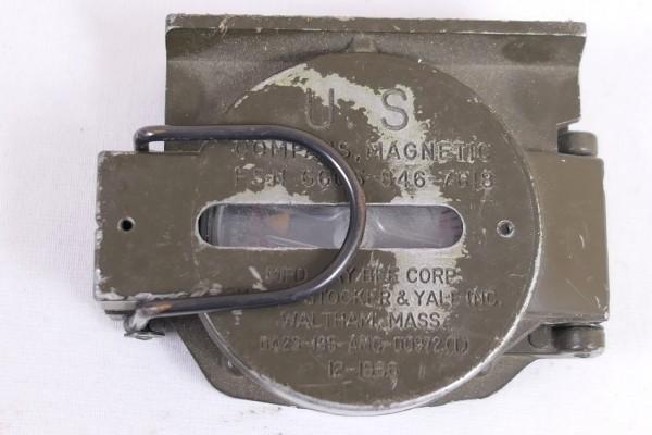 Original US Army Magnetic Compass 1966 Vietnam Era Compass