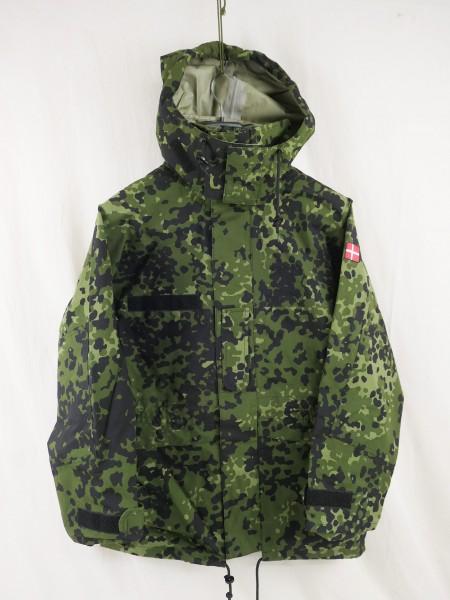 Denmark Gore-tex wetness protection jacket size XS flecktarn HMAK rain pants new