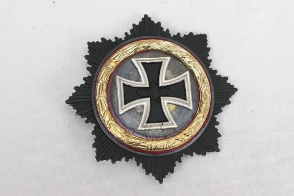 German cross in gold 1957 variant with maker
