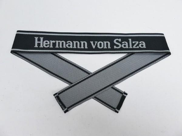 Wehrmacht Elite BEVO Waffen SS sleeve band HERMANN VON SALZA sleeve stripes