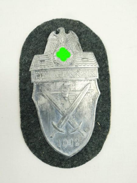 Wehrmacht Demjansk 1942 sleeve shield Demjansk shield for field blouse