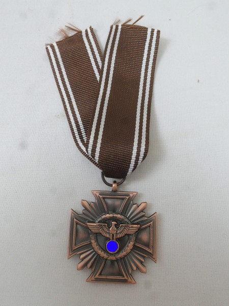 Service award / loyalty services in the party 1st level bronze on the ribbon