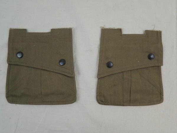 US WW2 2x pocket for field jacket / PARA ARM POCKETS -small- POUCHES M42 Jacket