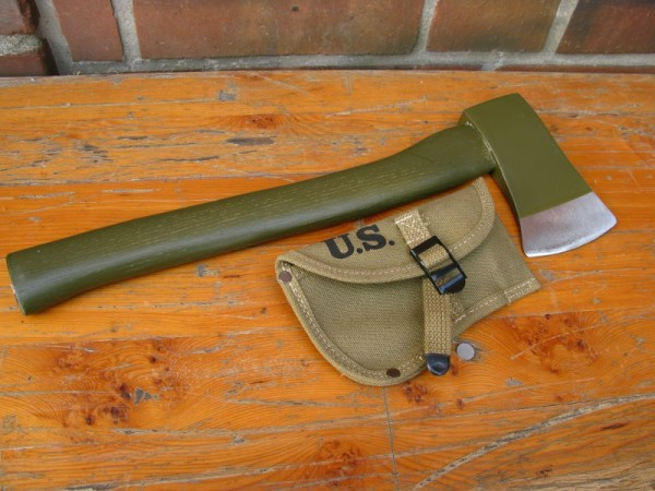 US Army Axe and Cover