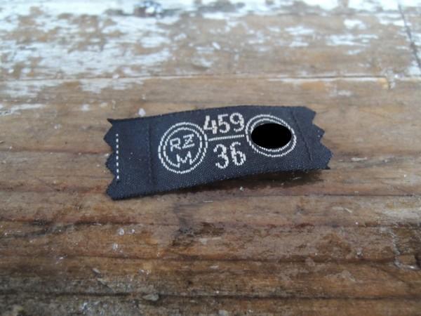 RZM underwear label 459/36
