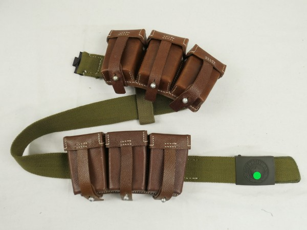 Wehrmacht Cartridge Bag K98 Brown - Design for Luftwaffe or German Africa Corps