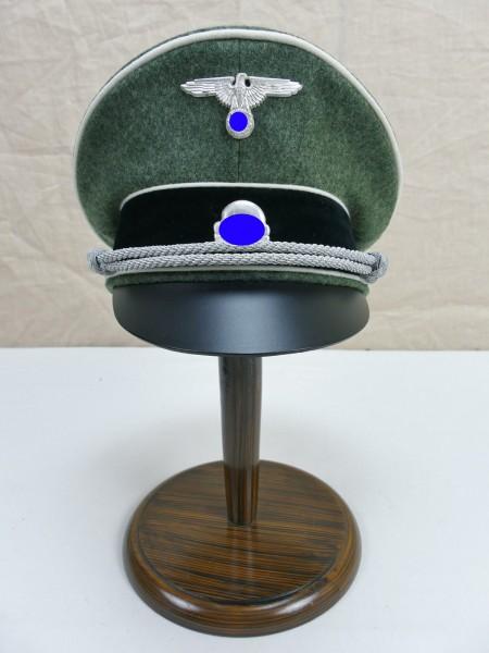 WSS Waffen Elite wool felt visor cap officer - with silvered effects Gr.57