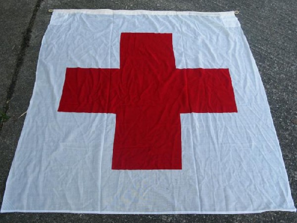 US Army Red Cross Flag Flag Red Cross Flag 150x150cm