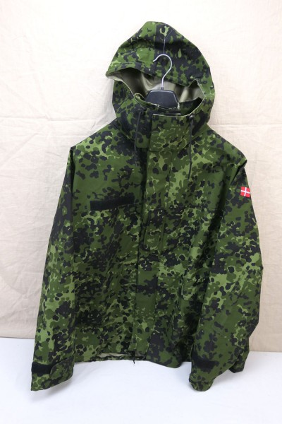 Denmark Gore-tex wetness protection jacket size XXL camouflage HMAK new