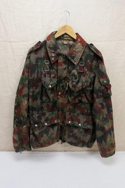 Fieldjacket camouflage jacket Leibermeister camo Switzerland Gr.L 52/54