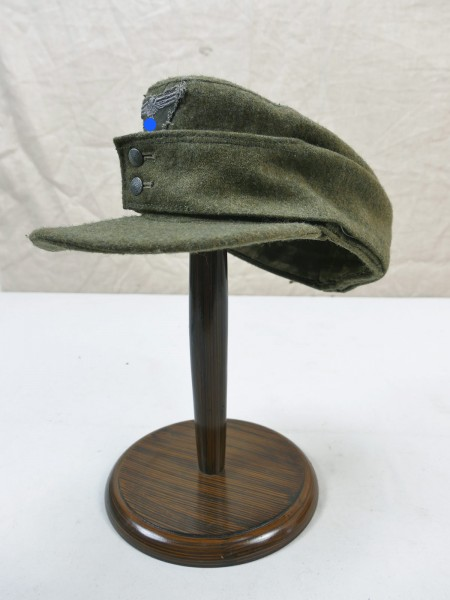 Wehrmacht M43 field cap size 58 bashlime cap M1943 original fabric with trapeze eagle