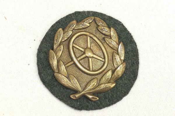 Wehrmacht Badge Kraftfahrbewährungsabzeichen 3rd Level Gold