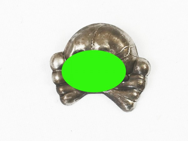 Cap Badge Tradition Skull Old Art Hussars Cavalry Enlighteners