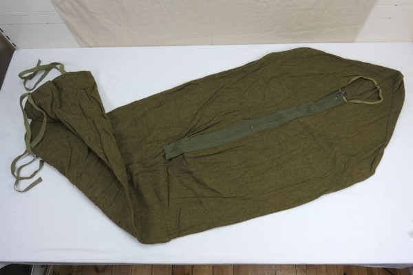 Original WW2 US Army Sleeping Bag Wool 1944 olive #4