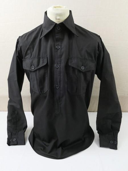 Uniform Shirt Tank Shirt Long Sleeve Shirt black size L
