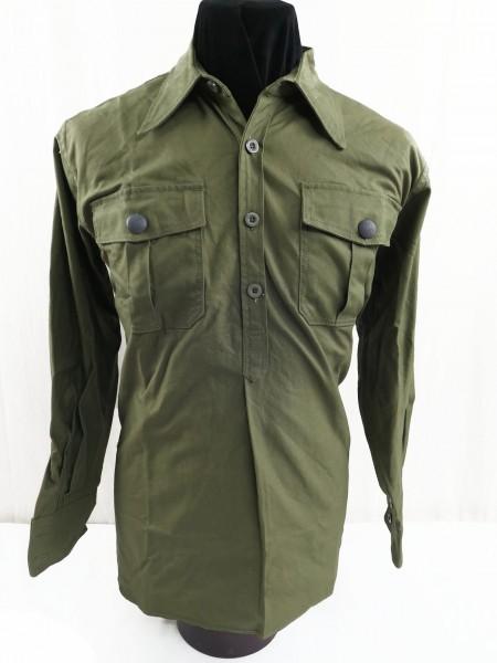 DAk Field Shirt Tropical Shirt long sleeve German Africa Corps Shirt reed green