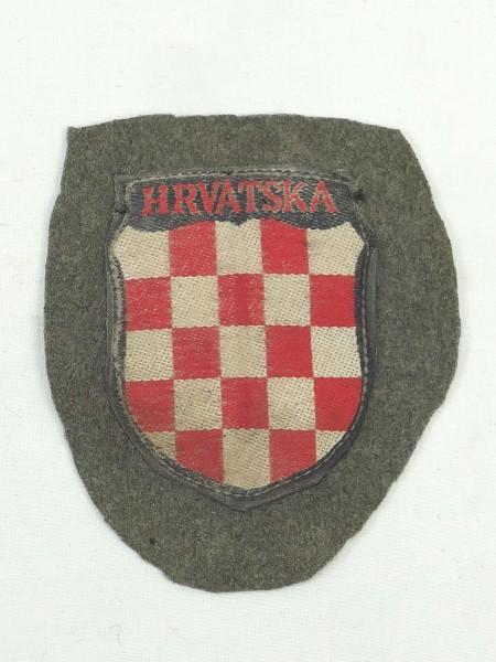 sleeve badge uniform sleeve shield volunteer elite Croatia HRVATSKA
